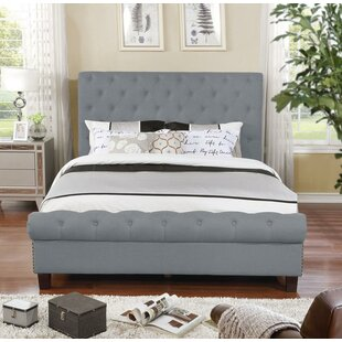 Caleigh Upholstered Platform Bed by Charlton Home