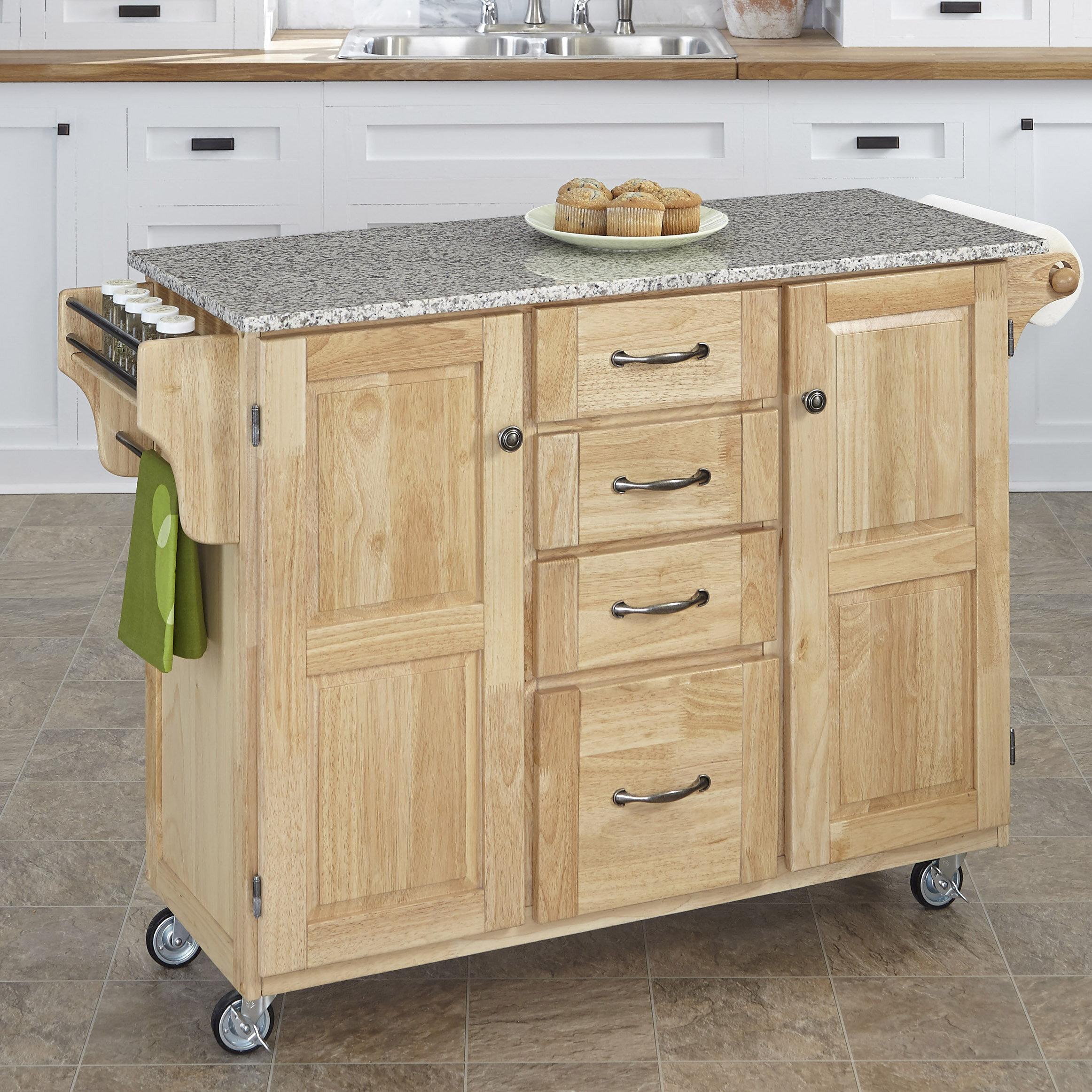 Millwood Pines Legler A Cart Kitchen