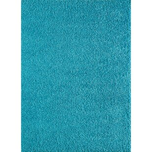 Pera Cozy Soft Blue/Turquoise Area Rug ByWildon Home ®
