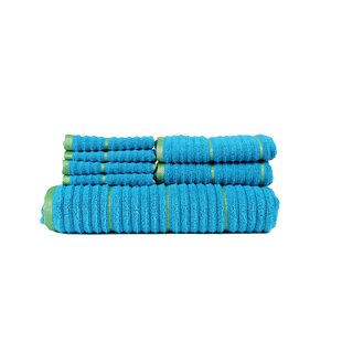 Hogg Extra Soft Zero Twist 7 Piece 100% Cotton Towel Set