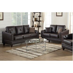 Best Choices Adrina 2 Piece Living Room Set by A&J Homes Studio Reviews (2019) & Buyer's Guide