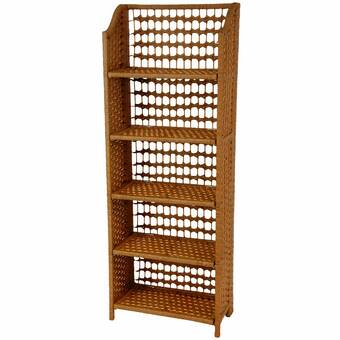 Williston Forge Rutkowski 69 8 H X 31 69 W Metal Standard Bookcase Reviews Wayfair