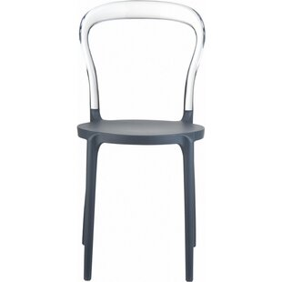 Niemann Stacking Patio Dining Chair (Set of 4)