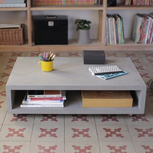 Monobloc Coffee Table with Tray Top