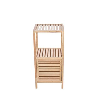 Compare Price Garrity 39.5cm X 86cm Bathroom Shelf