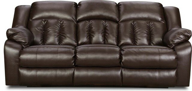 simmons furniture. darby home co houle reclining sofa by simmons upholstery \u0026 reviews | wayfair furniture