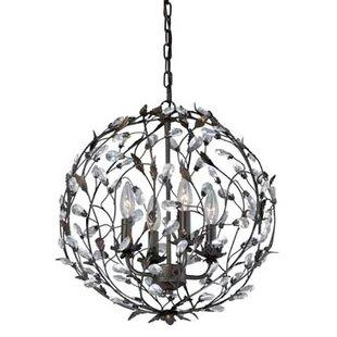 Abagail 4-Light Globe Chan..