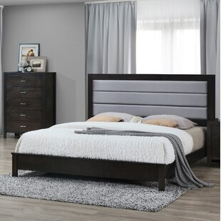 Upholstered Panel Bed by Best Quality Furniture