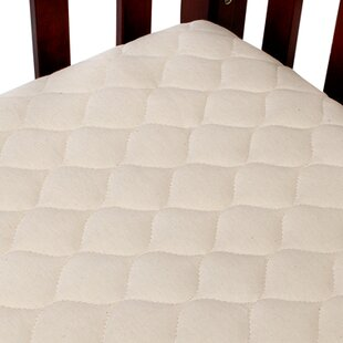 Quilted Portable Fitted Crib Mattress Pad