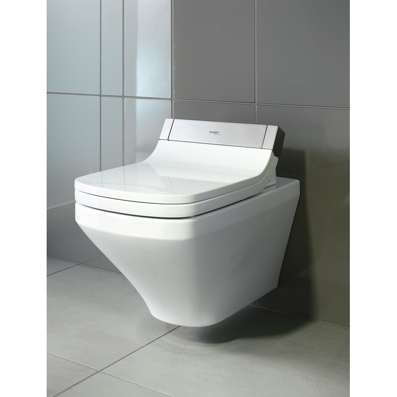 Duravit Durastyle Wall Mounted Washdown Model 1 6 Gpf Elongated Toilet Bowl Seat Not Included Wayfair