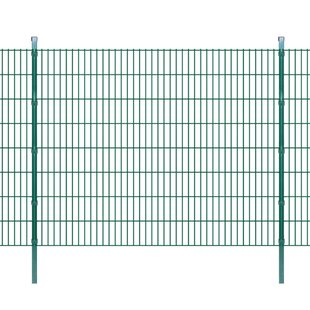 Everette 2D 138' X 5' (42m X 1.63m) Picket Fence Panel By Sol 72 Outdoor