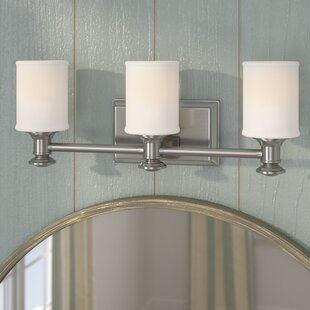 Beachcrest Home Bowers 3-Light Vanity Light