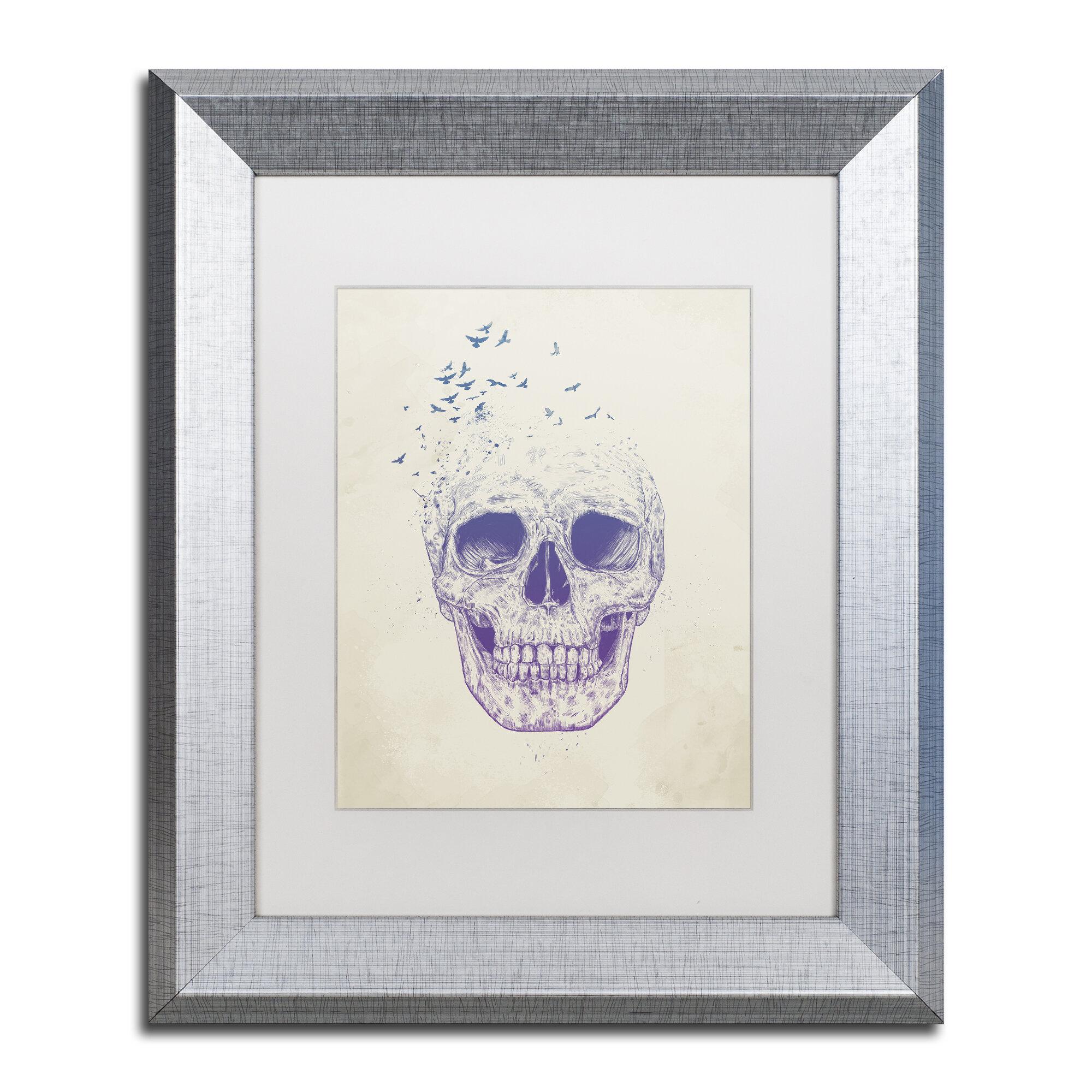 Trademark Art Let Them Fly Framed Graphic Art On Canvas Wayfair