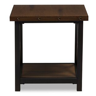 Chiana End Table by Williston Forge