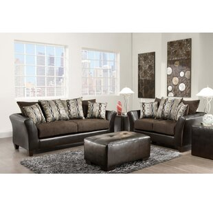 Dilorenzo 2 Piece Solid Wood Living Room Set by Latitude Run