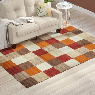 Beige And Orange Area Rugs Wayfair