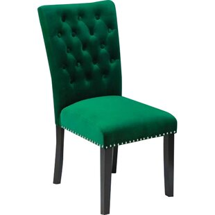 Erling Velvet Side Chair (Set of 2) by Wi..