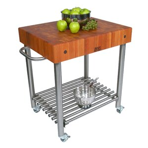 Cucina Americana Kitchen Cart with Butcher Block Top by John Boos Buy