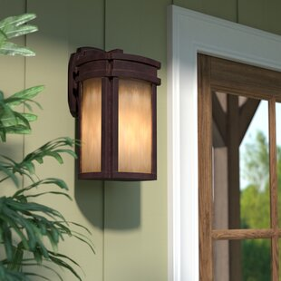 Find Carriage Club 1-Light Outdoor Wall Lantern By Loon Peak