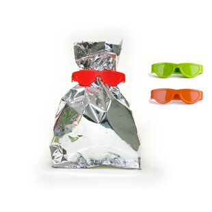 Design Ideas Qualy Bag Glasses Snack Keeper (Set of 3)