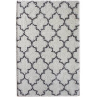 Find a Colon White/Gray Area Rug By Rosdorf Park