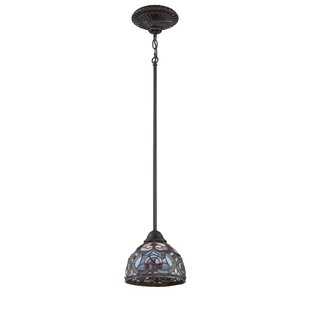 August Grove Remy 1-Light Dome Pendant