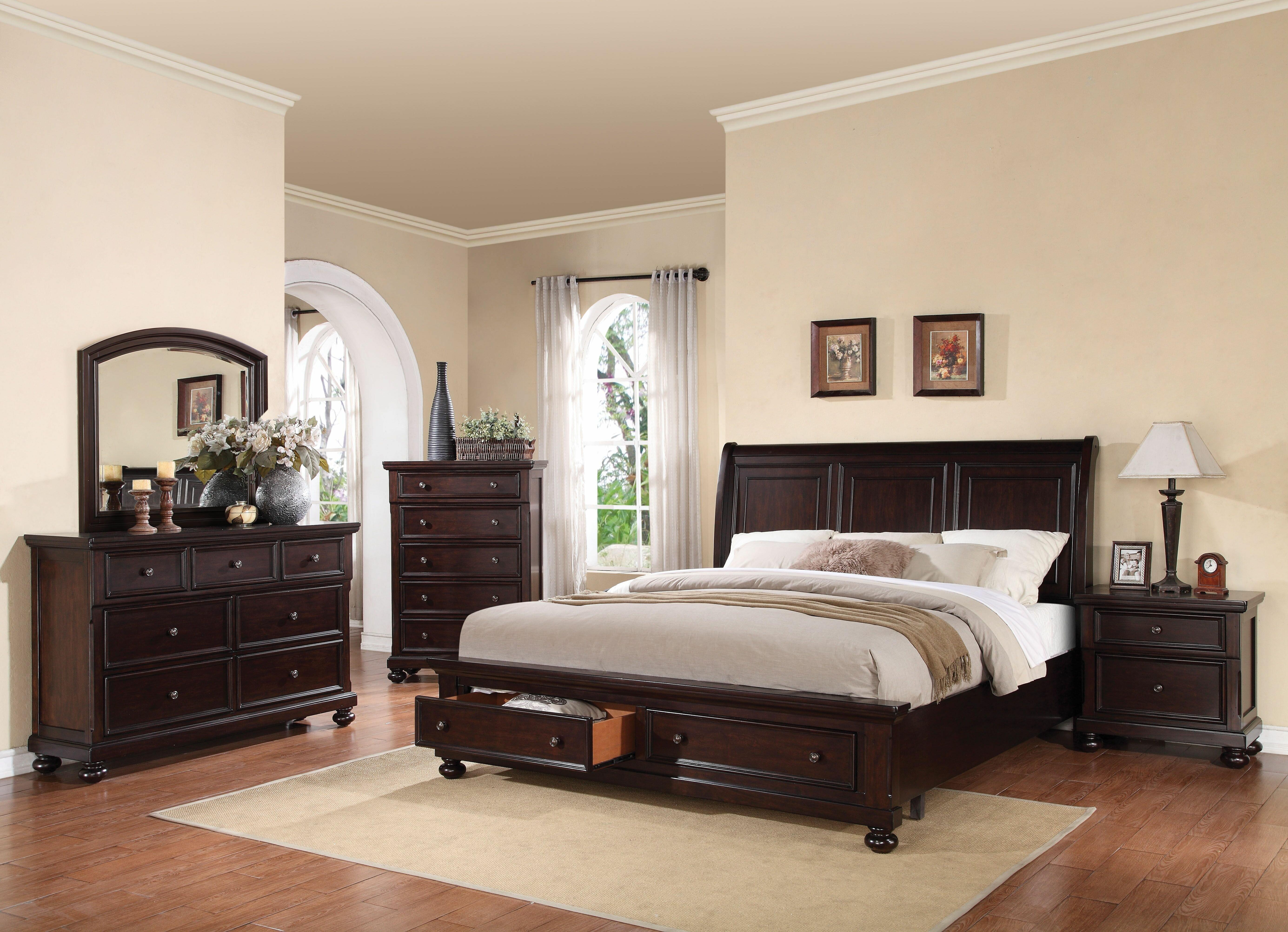 Canora Grey McMullen Platform Configurable Bedroom Set | Wayfair