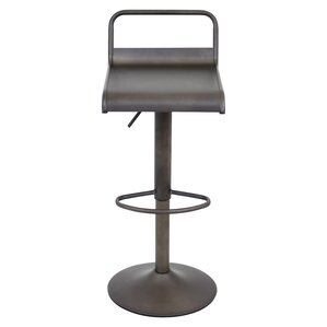 Willa Adjustable Height Swivel Bar Stool by Zipcode Design