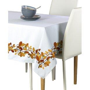 Erhart Fall Foliage Border Tablecloth