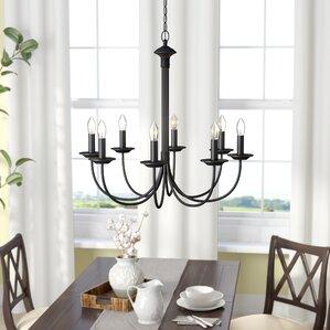 bronze dining room light. Shaylee 8 Light Candle Style Chandelier Bronze Chandeliers You ll Love  Wayfair