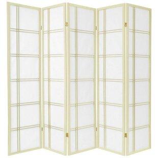 Find for Marla 5 Panel Room Divider ByWorld Menagerie
