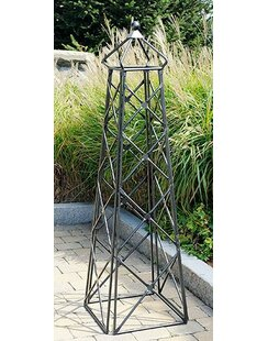 ACHLA Lattice Steel Obelisk Trellis