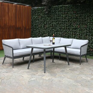 Coleville 6 Seater Rattan Corner Sofa Set By Sol 72 Outdoor