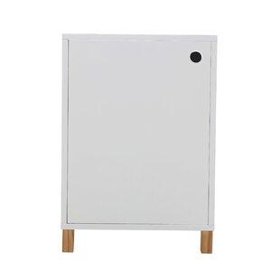 Darvell 1 Door Storage Cabinet By Norden Home