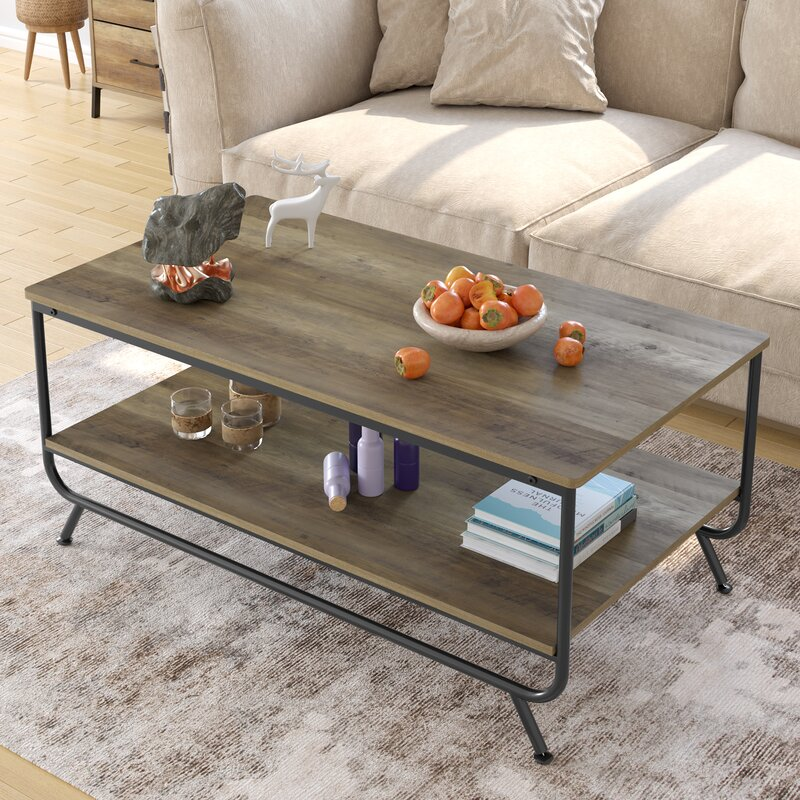 Union Rustic Sowa Coffee Table With Storage & Reviews Wayfair