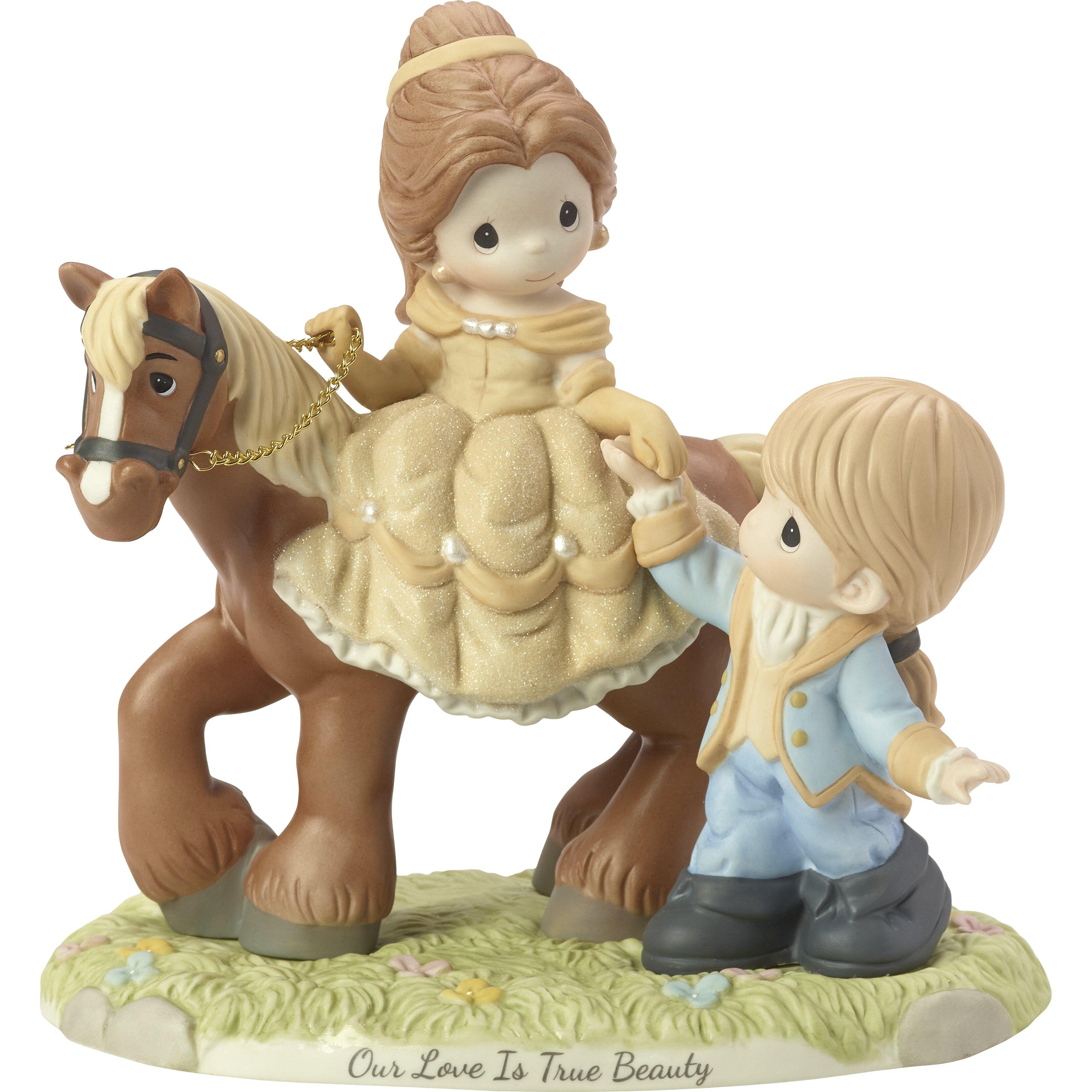 Precious Moments Disney Limited Edition Belle And Prince Adam Figurine Wayfair