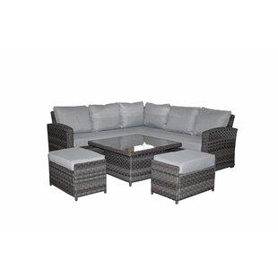 Gabrielle Garden Corner Sofa With Cushions Image