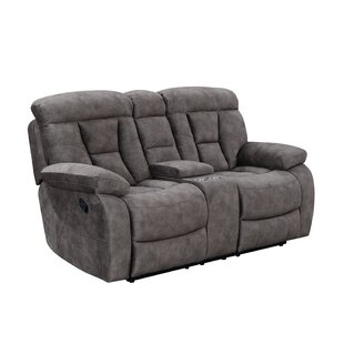 Kade Genuine Leather Reclining Loveseat