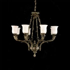 Zanin Lighting Inc. Toledo 8-Light Shaded Chandelier