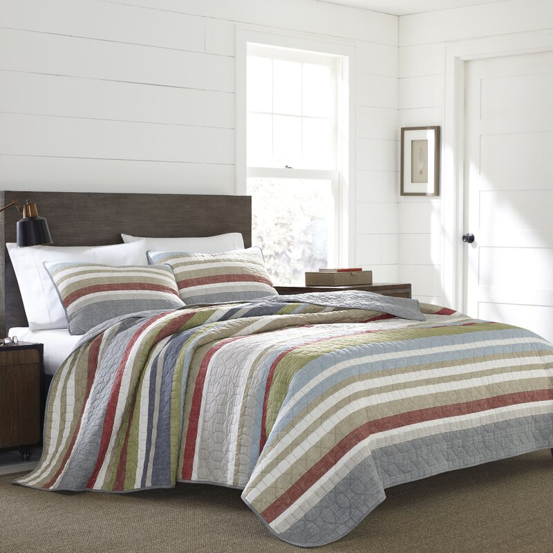 Eddie Bauer Salmon Ladder Quilt Set & Reviews | Wayfair