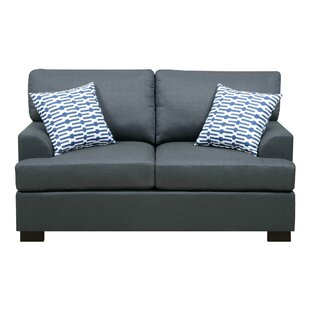 Buy clear Marengo Loveseat by A&J Homes Studio Reviews (2019) & Buyer's Guide