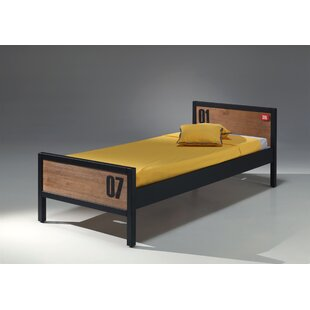 Bright European Single Bed Frame By Isabelle & Max