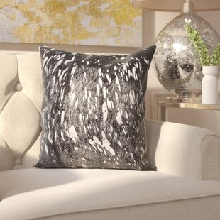 Surrey Leather Throw Pillow