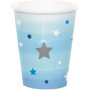 Twinkle Twinkle Little Star Paper Disposable Cup (Set of 8)