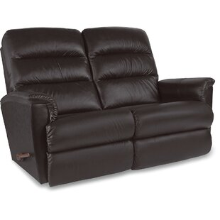 Tripoli Leather Reclining Loveseat by La-Z-Boy Sale
