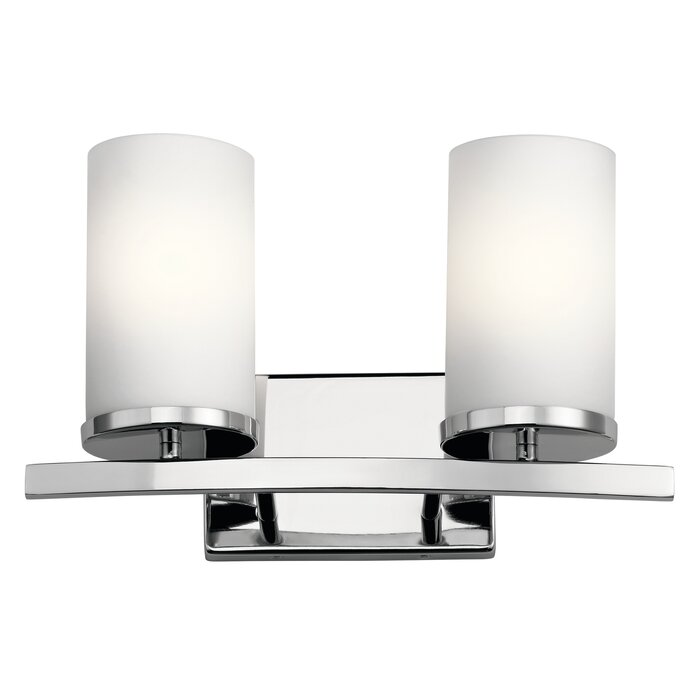 Chelsie 2 Light Vanity Light