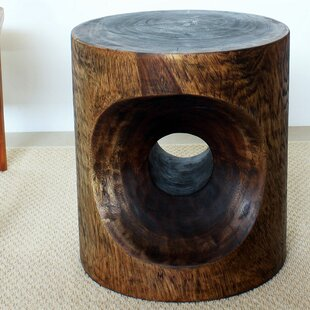 Mansour Peephole End Table by World Menagerie