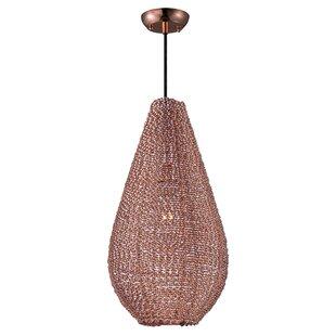 Bungalow Rose Hoover 1-Light Mini Pendant