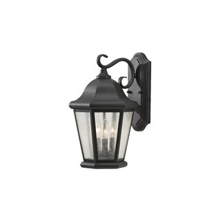 Price comparison Hereford 3-Light Outdoor Wall Lantern By Darby Home Co