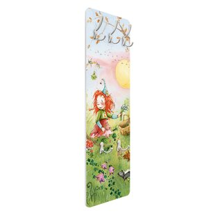 Review Frida Collects Herbs Wall Mounted Coat Rack